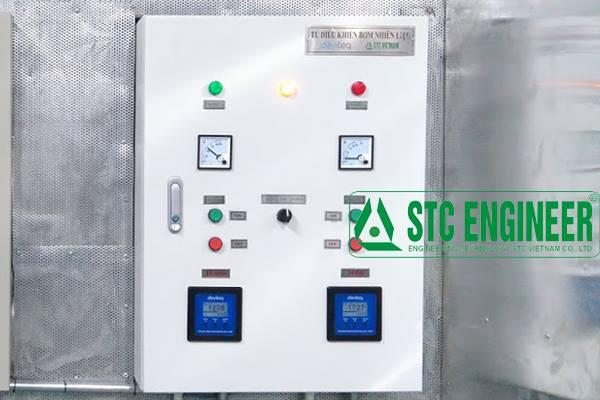 Tủ điều khiển bơm dầu ( 02 bồn)