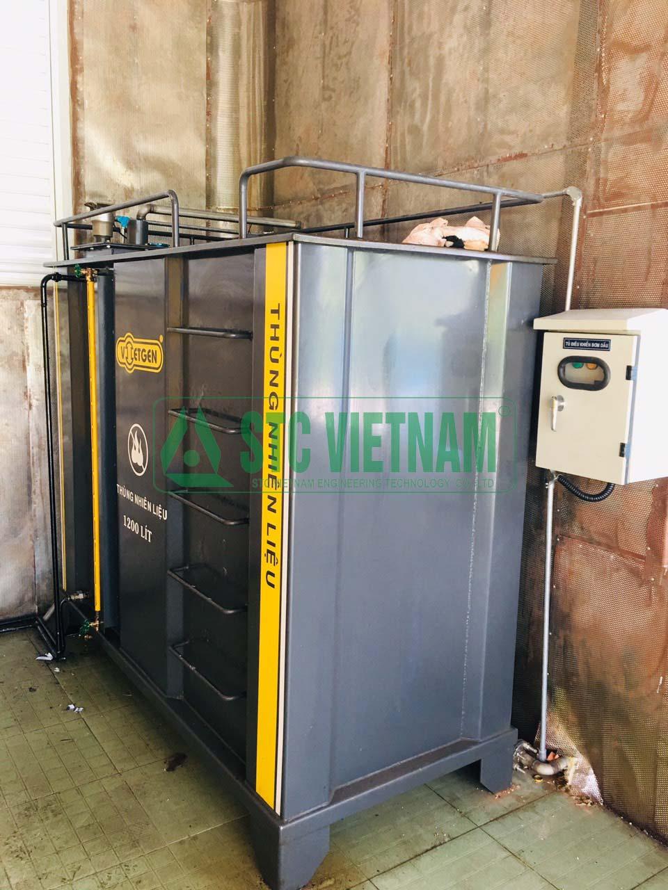 Tủ điều khiển bơm dầu ( 01 bồn)