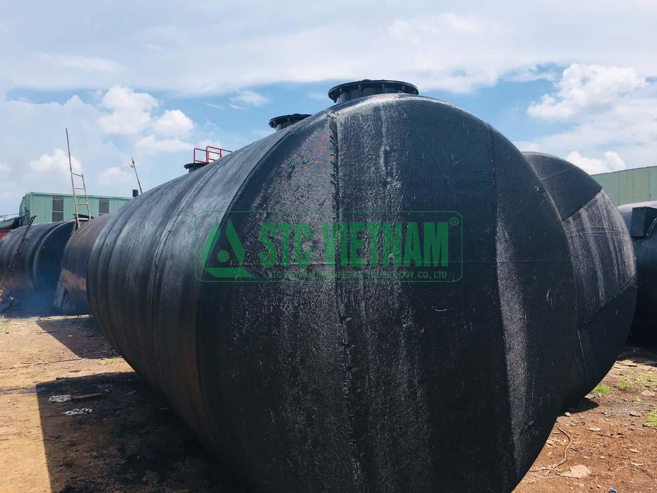 Gia công bồn xăng dầu giá rẻ 6000 lít