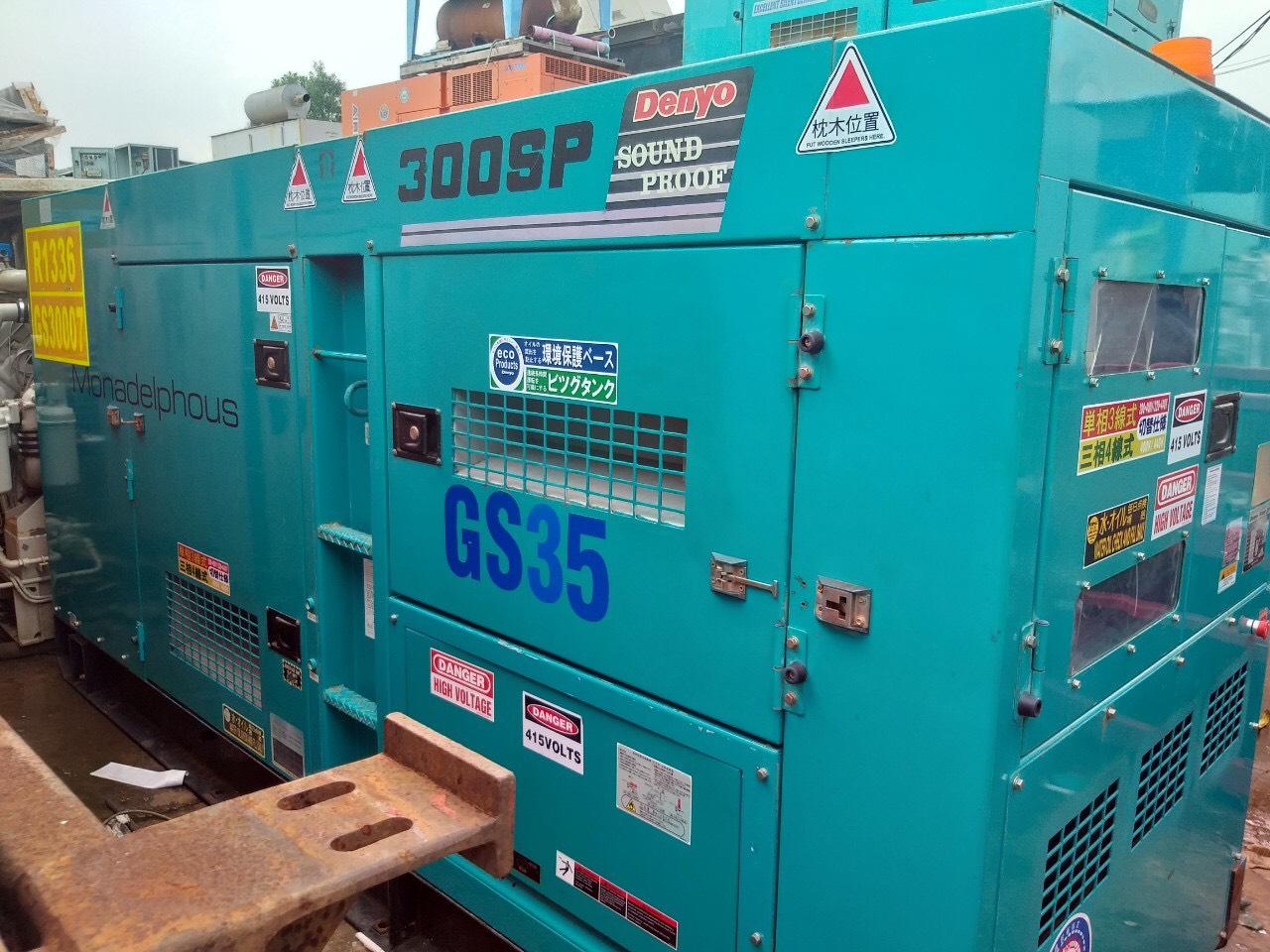 Máy phát điện Cũ Yanmar Genset 300 Kva