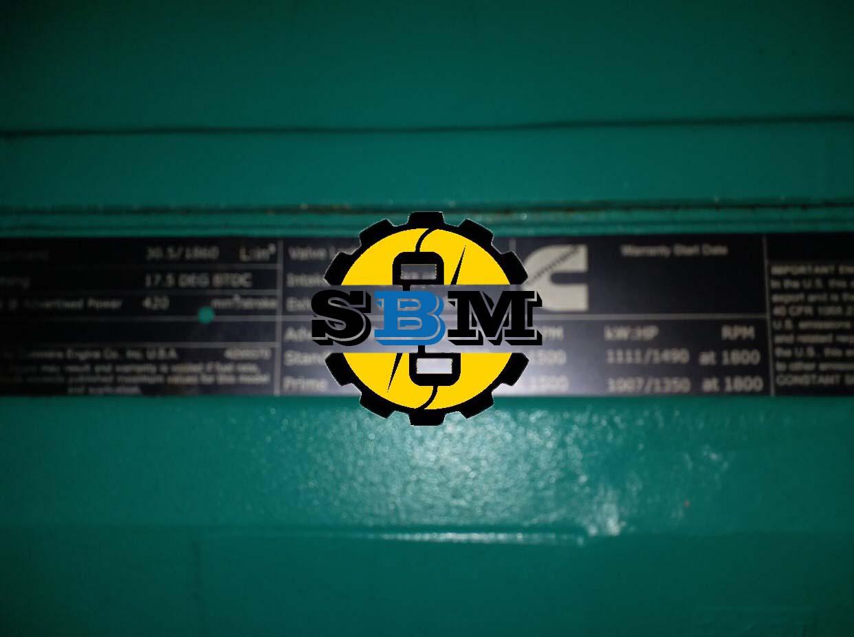 Máy phát điện cũCummins 1110 Kva
